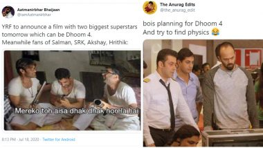Dhoom 4 Funny Memes and Jokes Trend on Twitter after Rumours of Casting Akshay Kumar to Shah Rukh Khan Are Making Rounds (View Tweets)