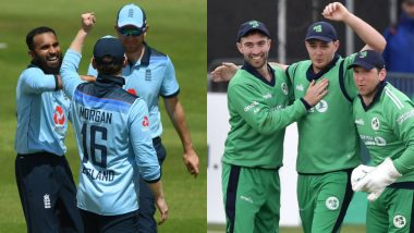 England vs Ireland 2020 ODI Series Schedule in IST: Get Fixtures, Full Time-Table With Match Timings and Venue Details of IRE Tour of ENG