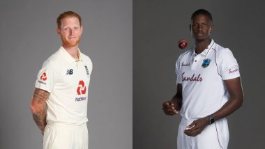 ENG 20/1 in 10 Overs | England vs West Indies Live Score Updates 1st Test 2020 Day 1: Joe Burns & Joe Danly Stabilise ENG