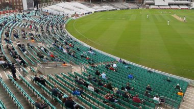 Fans Attend Surrey vs Middlesex Friendly Cricket Match for the First Time After Coronavirus Lockdown