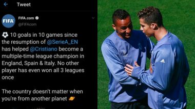 Danilo Luiz at Par With Cristiano Ronaldo! Juventus Defender Forces FIFA to Delete Tweet After 'Record League Wins' Goof-up (View Deleted Post)