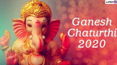 When is Ganesh Chaturthi in 2020? Know The Beginning Date of The 10-Day Festival of Ganeshotsav In Maharashtra This Year