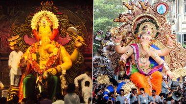 Lalbaughcha Raja Cancels Ganeshotsav 2020 Celebrations: Here's How Chinchpokalicha Chintamani, Ganesh Gallicha Raja and Others Plan to Ring in Ganesh Chaturthi Festival in Mumbai Amid Coronavirus Pandemic in India