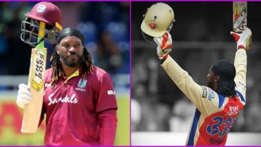 In IPL 2020 Season RCB Recall Chris Gayle's Fastest T20 Century, Highest T20 Score by a Batsman; Royal Challengers Bangalore Says It Will 'Remain Etched in the Memory' of Fans