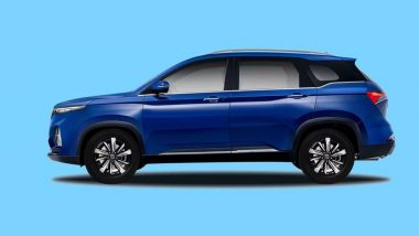 MG Hector Plus SUV Launching In India on July 13, Bookings Officially Open at Rs 50,000