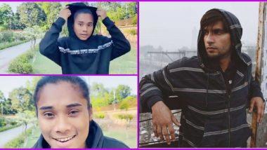 Sprinter Hima Das Wishes Ranveer Singh Happy Birthday in True 'Bantai Style', Says Apna Time Aayega (Watch Video)