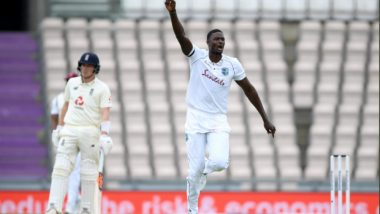 England vs West Indies, 1st Test 2020, Day 2 Stat Highlight: Jason Holder Registers Career-Best Figures, Grabs Six-Wicket Haul
