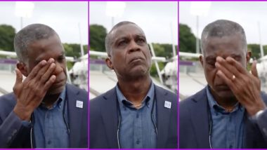 Michael Holding Breaks Down During TV Interview While Recalling Racism Incident (Watch Video)