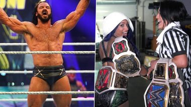 WWE Extreme Rules 2020 Results And Highlights: Drew McIntyre Defeats Dolph Ziggler to Retain His Title, Sasha Banks Walks Out With Raw Women's Championship Belt (View Pics)