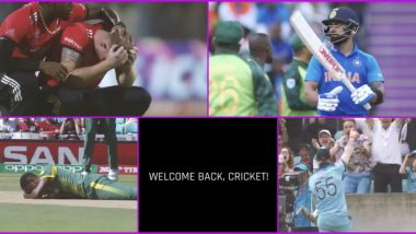 Welcome Back, Cricket! ICC Shares Emotional Video As International Cricket Is Set to Resume With England vs West Indies Test Series