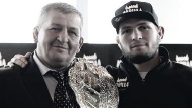 Khabib Nurmagomedov's Father Abdulmanap Passes Away Due to COVID-19 Complications