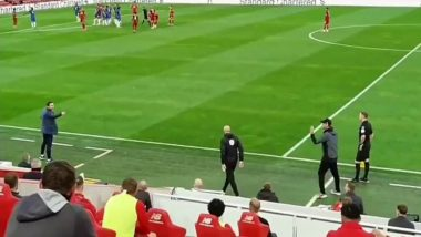 Angry Frank Lampard Asks Liverpool Bench to FU** Off, Gets Into a Row With Jurgen Klopp During Liverpool vs Chelsea, EPL 2019-20 (Watch Video)