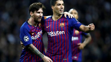 Luis Saurez Refrains From Spilling Beans Over Lionel Messi's Barcelona Exit, Says 'If He Needs a Change, He Will Know'