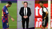 Lionel Messi Is Just Behind Cristiano Ronaldo, Piers Morgan Jumps Into GOAT Debate
