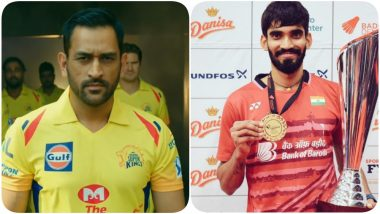 MS Dhoni's Return to Cricket With IPL 2020 Excites Kidambi Srikanth, See Post
