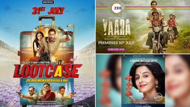 Vidya Balan's Shakuntala Devi, Vidyut Jammwal's Yaara, Kunal Kemmu's Lootcase - Theatre Clash Shifts To OTT As Three Movies To Come Out On July 31
