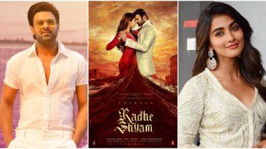 Radhe Shyam: Prabhas and Pooja Hegde's Romantic Chemistry Garners Praises From Fans! (View Tweets)