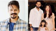 Vivek Oberoi Wishes Good Health to Aishwarya Rai Bachchan and Her Family After They Test Positive For COVID-19 (View Tweets)