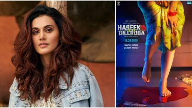 Haseen Dillruba: Makers to Shoot the Last Schedule of Taapsee Pannu Starrer in Mumbai?