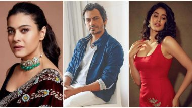 #ComeOnNetflix: Kajol, Nawazuddin Siddiqui, Janhvi Kapoor and Others Drop Major Hints About their Upcoming Releases on OTT Platform; Big Announcement on July 16