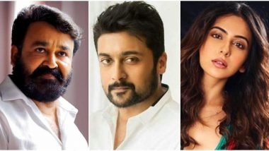 Happy Birthday Suriya: Mohanlal, Rakul Preet Singh, Rana Daggubati and Others Extend Warm Wishes to the Actor on his Special Day (Read Tweets)