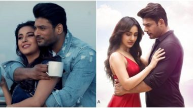 Sidharth Shukla's Dil Ko Karaar Aaya with Neha Sharma or Bhula Dunga with Shehnaaz Gill - Vote for Your Favourite Song