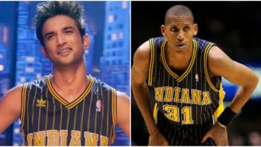 Sushant Singh Rajput Performs to Reggie Miller's Moves in Dil Bechara's Title Track, NBA Legend Says 'Gone But Not Forgotten'