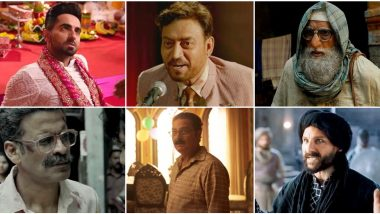 Half Yearly Roundup: From Amitabh Bachchan in Gulabo Sitabo to Manoj Bajpayee in Bhonsle, 10 Best Performances by a Bollywood Actor in First Half of 2020