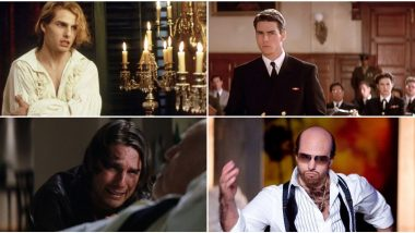 Tom Cruise Birthday Special: Need a Break From Ethan Hunt? Here're 5 Amazing Performances Where We Saw the Acting Brilliance of Mission Impossible Star!