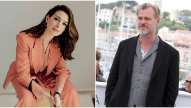 Christopher Nolan's Team Refutes Anne Hathaway's Claims of Him Banning Chairs from His Movie Sets