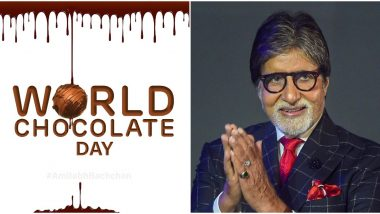 World Chocolate Day: Amitabh Bachchan Shares His Wishes in Advance, Reveals his Temptation to Have One (View Tweet)