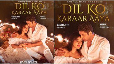 Dil Ko Karaar Aaya First Look: Sidharth Shukla and Neha Sharma's Chemistry Looks Palpable (View Pic)