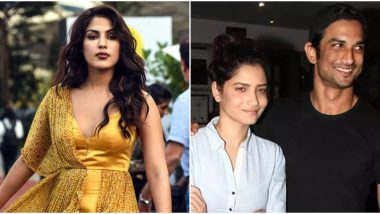 Sushant Singh Rajput Death Probe: Ankita Lokhande Reportedly Records her Statement with Bihar Police, Says the Late Actor Was Not Happy With Rhea Chakraborty