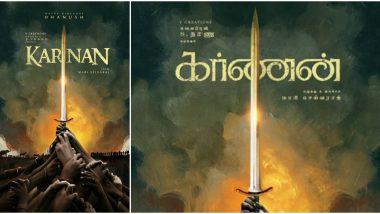 Karnan: Makers of Dhanush's Film with Mari Selvaraj Release Title Look on the Actor's 37th Birthday (View Poster)
