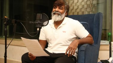 Laabam: Vijay Sethupathi's Pics While Dubbing For SP Jananathan's Directorial Hits The Internet!
