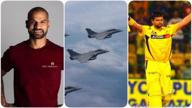 Shikhar Dhawan, Suresh Raina, Gautam Gambhir & Others Welcome Five Rafale Jets to India, See Posts