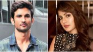 Sushant Singh Rajput Death Case: Supreme Court to Hear Rhea Chakraborty's Petition Seeking Transfer of FIR from Patna to Mumbai On August 11
