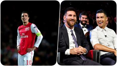 Cristiano Ronaldo & Lionel Messi's Names Left Out of Ballon d'Or 2020 Race by Robin van Persie