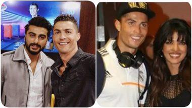 As Cristiano Ronaldo and Bipasha Basu's Kissing Pics Go Viral, Here's Looking at Juventus Star's Meetings With Priyanka Chopra, Arjun Kapoor Amongst Other Bollywood Celebs