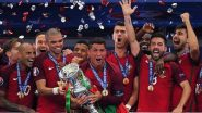 Cristiano Ronaldo Relives Memories of Portugal Winning Europa Cup 2016 (See Pics)