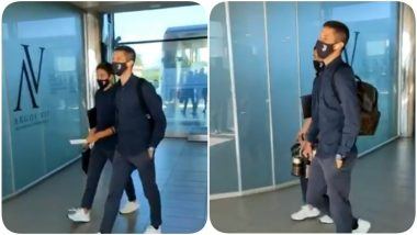 Cristiano Ronaldo, Paulo Dybala & Team Juventus Leave for the Game Against Udinese (Watch Video)