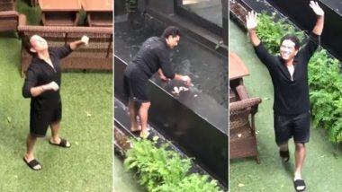 Sachin Tendulkar Gets Nostalgic As He Enjoys Mumbai Rains, Daughter Sara Tendulkar Captures Video