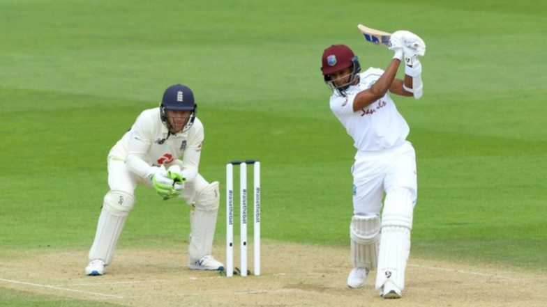 England vs West Indies, 1st Test 2020, Day 3, Stat Highlights: Shane Dowrich, Kraigg Brathwaite Hand Visitors 114-Run Lead
