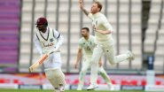 ENG 11/0 in 10 Overs (WI 318 Runs) | England vs West Indies Live Score 1st Test 2020 Day 3: England Trails by 103 Runs