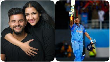 Priyanka Raina Pens a Heartfelt Note for Hubby Suresh Raina's 15 Years of International Career, Says 'We Are Super Proud'