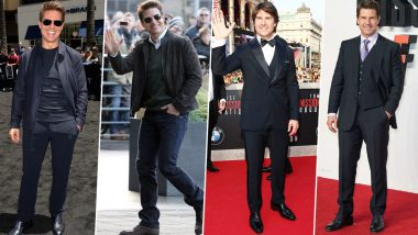 Tom Cruise Birthday Special: His Dapper Appearances Elevate His Debonair Personality (View Pics)