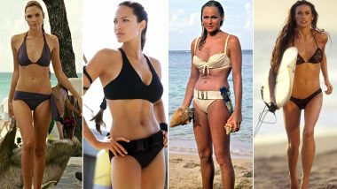 International Bikini Day 2020: From Angelina Jolie in Tomb Raider to Halle Berry in Die Another Day - Picking Some of the Hottest Bikini Scenes in Hollywood