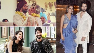 Shahid Kapoor - Mira Rajput Anniversary: 10 Gorgeous Pictures of B-town's Most Loved Couple That Prove It's A Pair Made In Heaven!