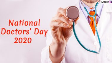 Happy Doctor's Day 2020 Images, Quotes, Wishes & HD Wallpapers For Free Download Online: Wish National Doctor's Day With Hike GIF Messages and WhatsApp Stickers