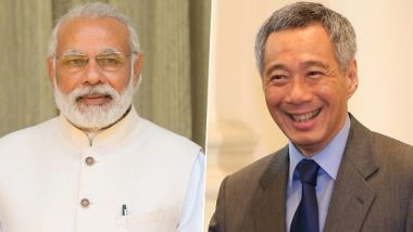 PM Narendra Modi Congratulates Lee Hsien Loong, PM of Singapore, For Winning General Elections 2020